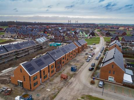 Starters vinden nauwelijks betaalbare nieuwe woning in Kampen