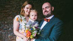 """Ex-'Thuis'-actrice Ditte Jaspers getrouwd: """"Veel mooiere dag dan verwacht"""""""