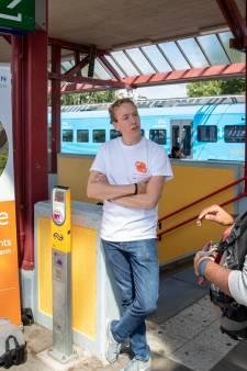 Ontvangst voor internationale studenten op station Ede-Wageningen