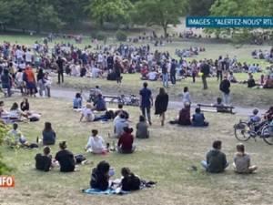 300 personnes réunies dans un parc à Forest, la police ne verbalise pas