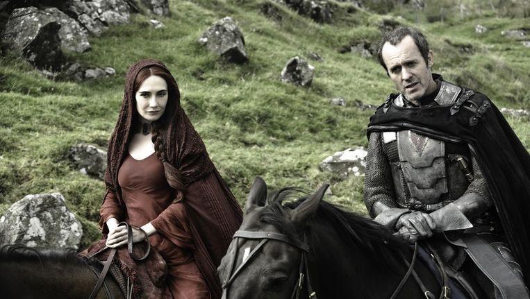 Carice van Houten in Game of Thrones, één van de topseries van het afgelopen jaar. Beeld HBO