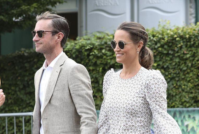 Pippa en haar echtgenoot, James Matthews.