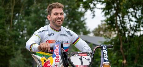 Twan van Gendt bouwde zijn eigen replica van de Olympische BMX-baan: 'Een jongensdroom, alles komt samen'