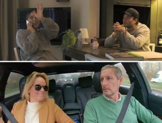 """Ellen en Gert bespieden Marie en Viktor: """"Wij zien nog geen kerstboom staan?"""""""