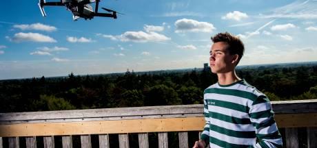 Apeldoorner Zilver (17) maakt furore én geld met spectaculaire dronevideo's