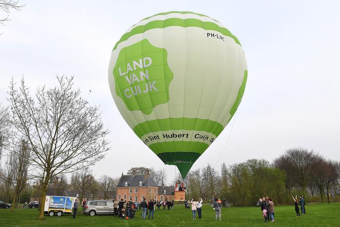 De Land van Cuijk Luchtballon.