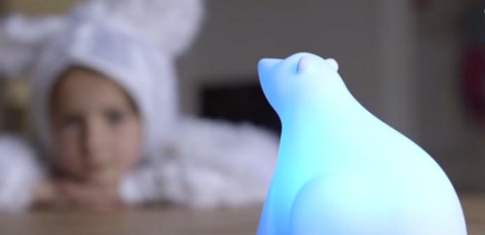 De slimme Polar Bear Lamp voor kinderen van 0-10 jaar