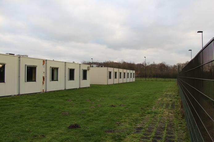 De units bij de vroegere tbs-kliniek Oldenkotte, waar tijdelijk de bewoners van het Johannes Wierhuis uit Enschede zijn ondergebracht.