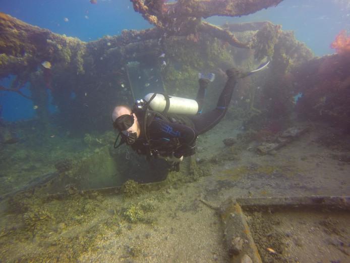 Niek Santman is de nieuwe eigenaar van Diveworld in Enschede