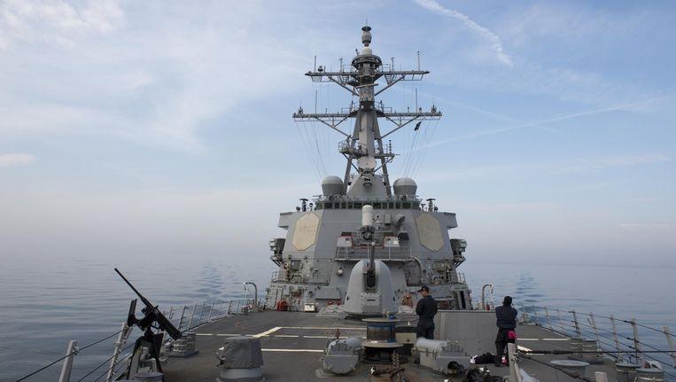 De USS Donald Cook. Beeld afp