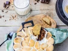 Wat Eten We Vandaag: Chocolade-kardemomkoekjes met s'mores dip