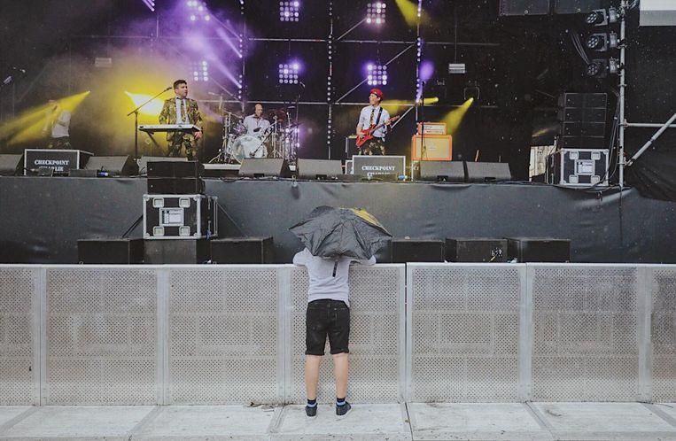Nu is het niet meer te warm, maar het regent