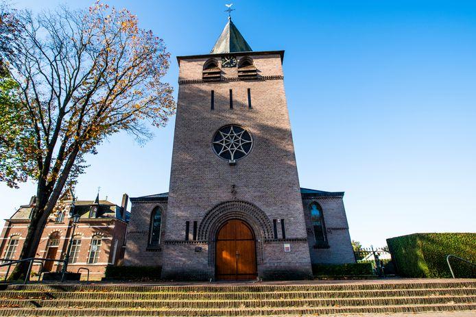 De Heilige Monulphuskerk in Knegsel is een van de kerken die op de nominatie staat om gesloten en verkocht te worden.