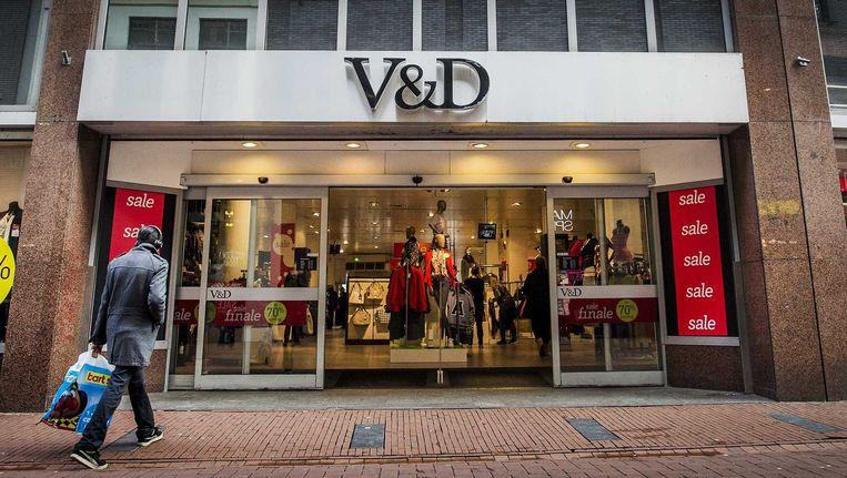 Het V&D-filiaal aan het Rokin in Amsterdam. Beeld anp