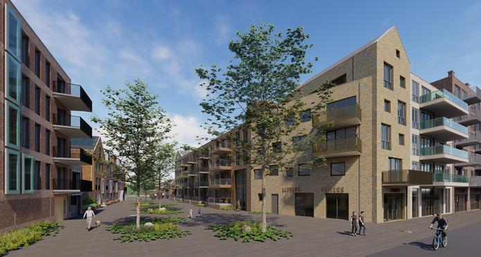 In de Amersfoortse wijk Vathorst worden 61 nieuwe sociale huurwoningen gebouwd.
