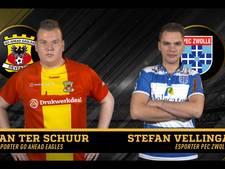 Digitale derby: Ian en Stefan gamen om de IJssel