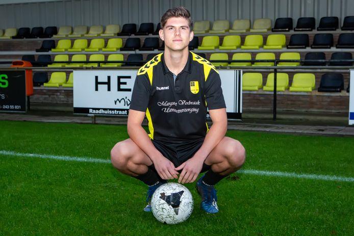 Voetballer Arno van Gastel van NSV uit Nispen.