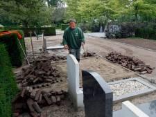 Nieuwe paden voor begraafplaats in Hardinxveld-Giessendam