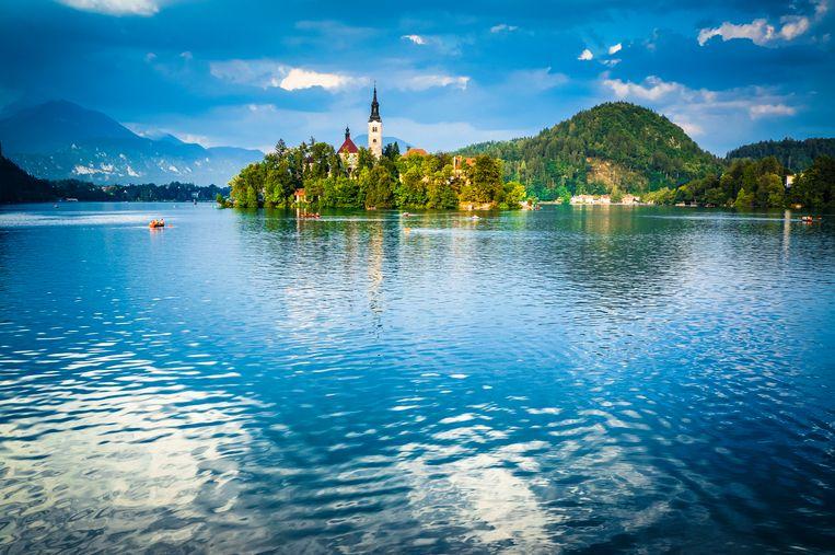 Het wondermooie meer van Bled