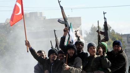 Turkije start grondoffensief tegen Koerdische milities in Syrië