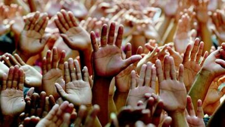 Charismatische groeperingen hebben oog voor ‿duivelse invloeden‿. Die zouden soms ook psychiatrische ziektebeelden kunnen verklaren. (AFP) Beeld