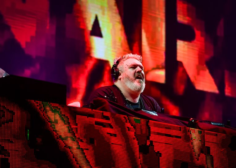 Kristian Nairn, 'Game of Thrones'-acteur en dj.