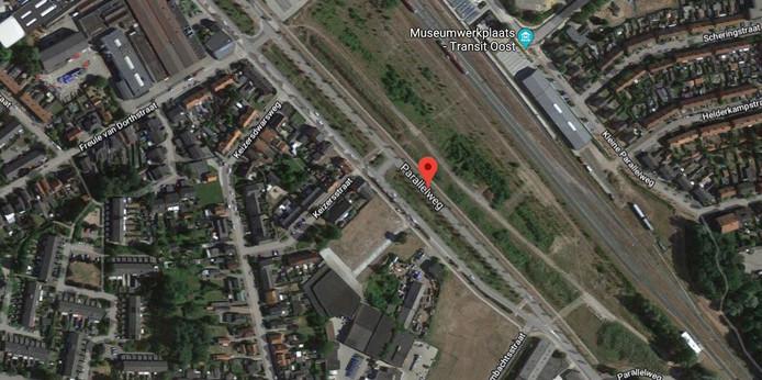 De gemeente Winterswijk heeft grond in de Spoorzone van Winterswijk gekocht, het gebied tussen het spoor en de Parallelweg.