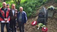 Gedenksteen ter ere van bemanning neergehaalde Britse bommenwerper