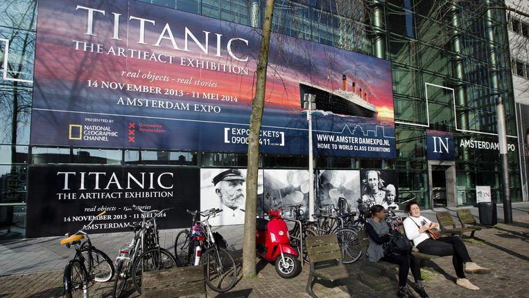 Amsterdam Expo op de Zuidas, het zakencentrum van Amsterdam. Beeld anp