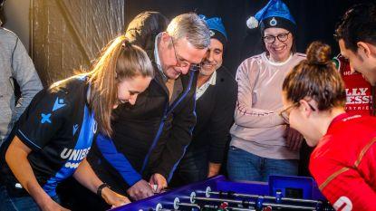 Club Brugge tegen Zulte-Waregem... in tafelvoetbal: Belgische beker 'kicker' strijkt neer in sportcafé DD BaR