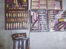 Illegaal vuurwerk aangetroffen na meldingen over vuurwerkoverlast in Sleeuwijk