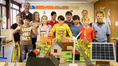 Leerlingen De Schorre bouwen eigen dorp