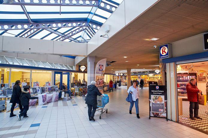 Winkelcentrum de Ruwert in Oss, nog vóór de komst van bakker Lamers.