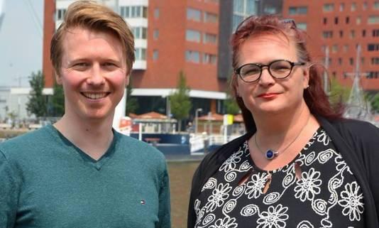 Het duo Gerard Oosterwijk en Astrid Oosenburg