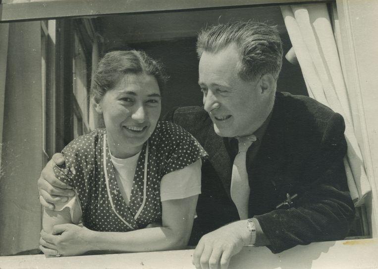 Janny en Bob, circa 1956.  Beeld Privéarchief Rob Brandes
