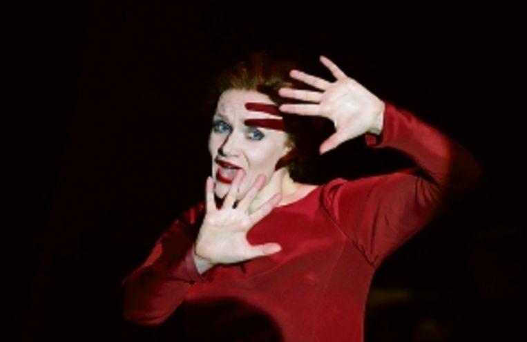 Elizabeth Atherton als Eurydice. Zingen kon ze! (FOTO MALCOLM WATSON) Beeld