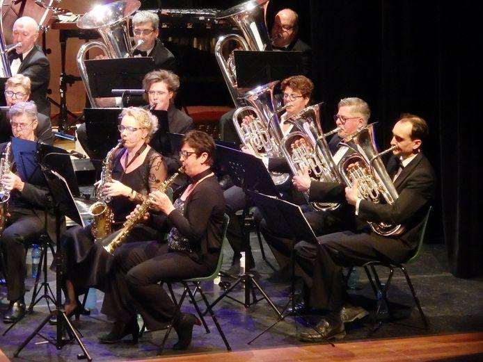 Muziekvereniging Veronica uit Zuidzande houdt zaterdag 14 september Muziek op 't Plein.