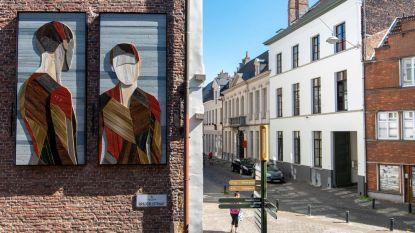Nieuw straatkunstwerk is voorbode van Van Eyck-stadswandeling