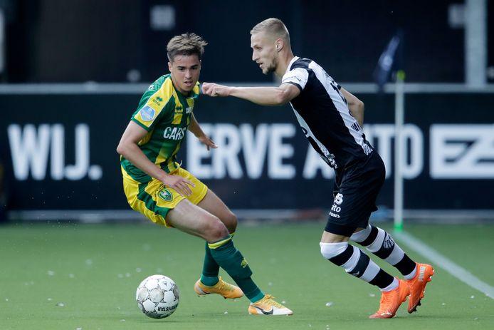 Heracles-speler Silvester van der Water wil niet meespelen tegen Willem II.