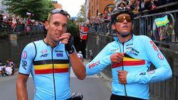 """Van Avermaet eerlijk: """"In de spurt niet goed genoeg"""", Gilbert: """"Ik heb nog geprobeerd"""""""