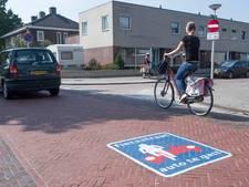 Straks ook bussen door Enschedese fietsstraat