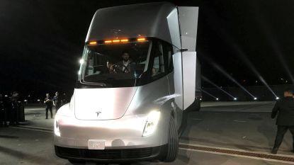 Tesla wil met elektrische truck aan Duits vrachtwagenverbod ontsnappen