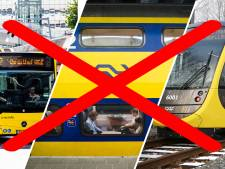 Verbod op staking bij Schiphol, dinsdag toch 'grootste ov-staking in tientallen jaren'