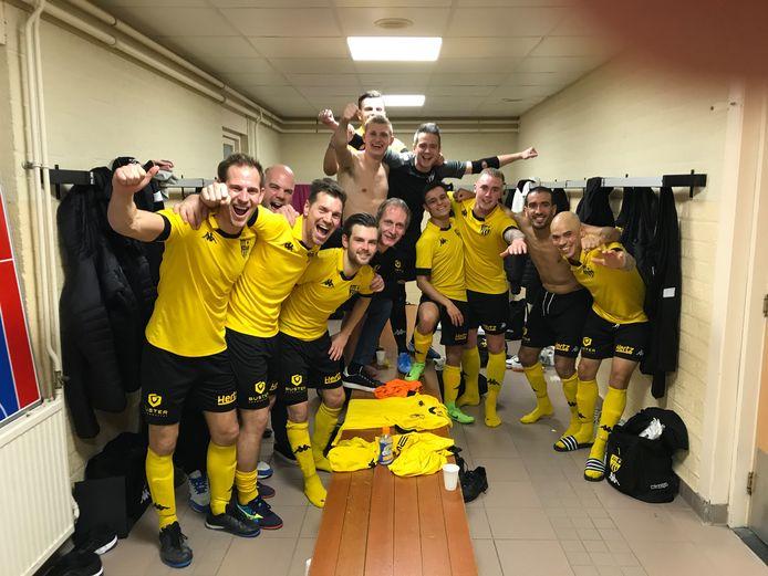 Door de voortijdig beëindigde competitie en het schrappen van de bekerfinale valt er even niets te juichen voor de zaalvoetballers van eredivisionist BE '79 uit Berkel-Enschot.