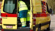 Fietser gewond door omvallend verkeersbord