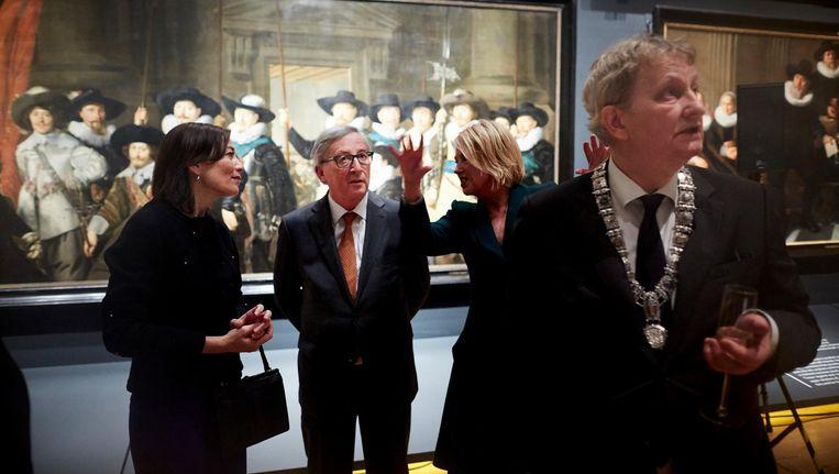 Burgemeester Van der Laan maakt tentoonstelling in Amsterdam Museum. Beeld anp