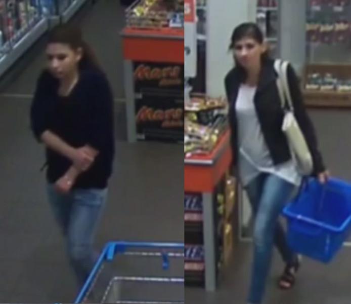 De politie Almelo zoekt twee vrouwen die op 24 juni op brutale wijze een portemonnee afhandig hebben gemaakt van een bejaarde dame.