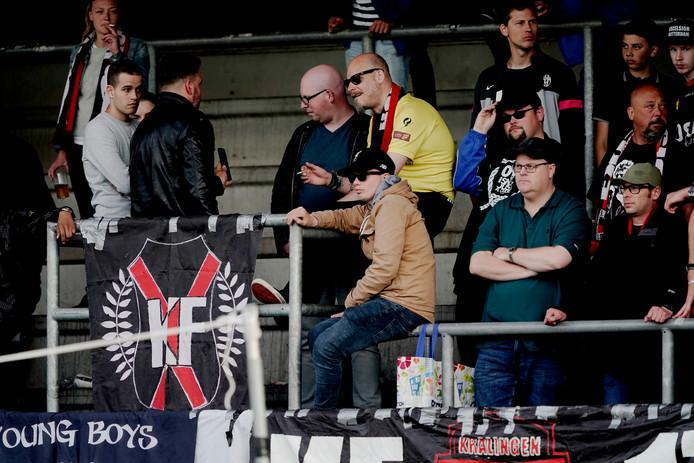 De supporters van Excelsior hebben betere tijden gekend.