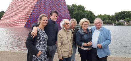 Oosterhoutse zakenpartner: 'Kunstenaar Christo gaf nieuwe dimensie aan mijn olievaten'