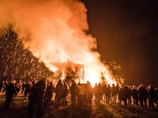 Op deze plekken in Twente en de Achterhoek brandt een paasvuur